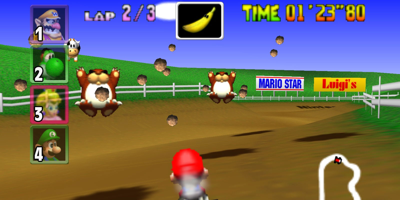 11 Most Useful Mario Kart 64 Items In Order