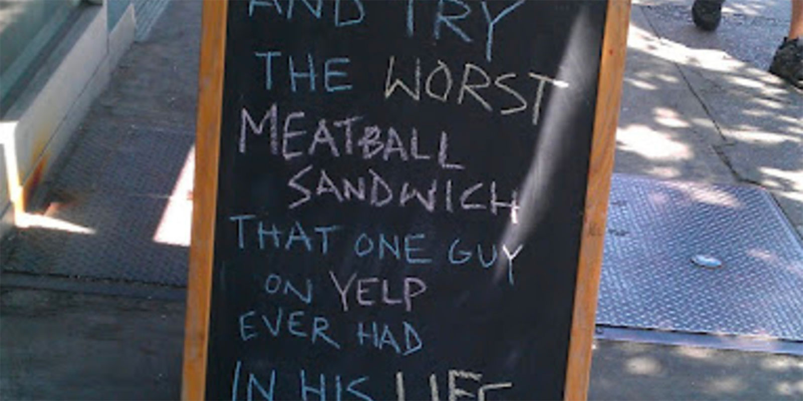11 Best Passive-Aggressive Store and Restaurant Signs