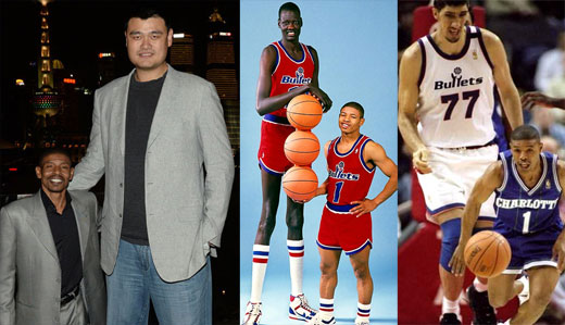 11 Amazing Photos of Yao Ming Next to Regular-Sized People