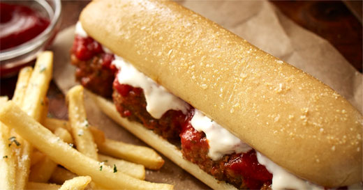 Olive Garden Breadstick Sandwiches Are Really Happening: Olive Garden's New Breadstick Sandwich Comes With A Side