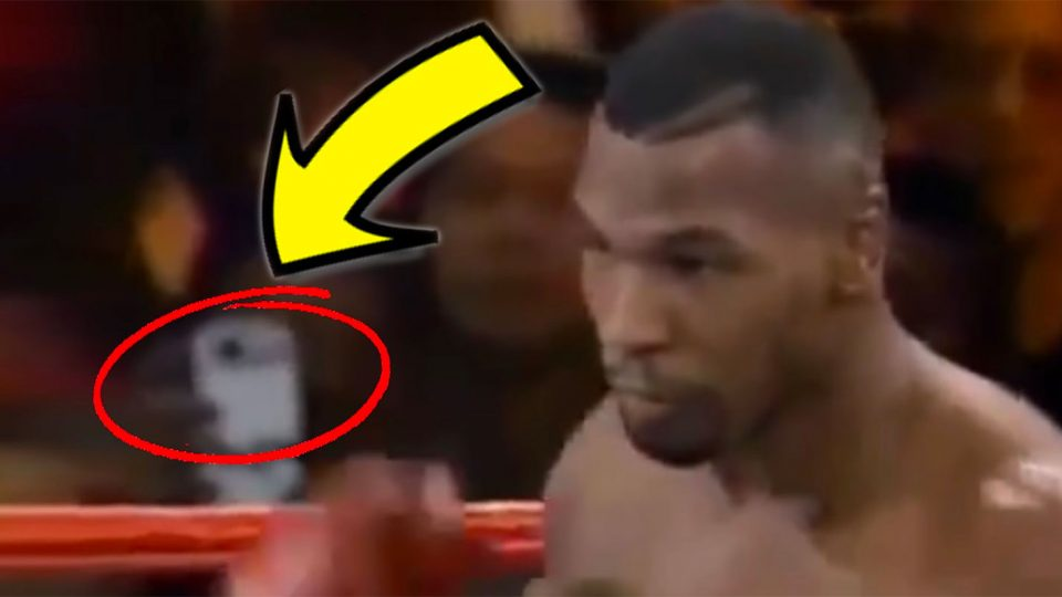 A Time Traveler Has Been Spotted at a 1995 Mike Tyson Fight