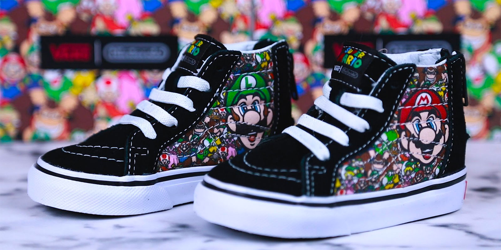 7b56f9e6fc9731 The 15 Vans Nintendo Shoe Designs