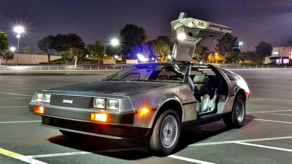 A Guy Busted Doing 88 in His DeLorean Says He Wasn't Trying to Time Travel