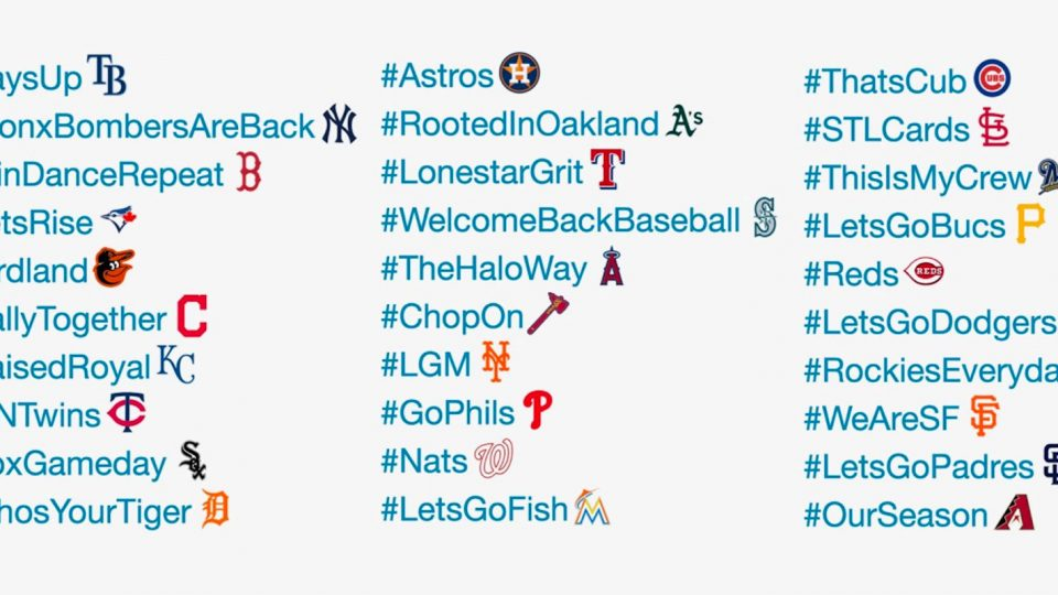 All 30 MLB Teams' Official Hashtags, Ranked From Bad to Worse