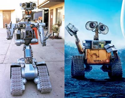 the 11 pixar films \u2014 and the movies they\u0027re accused of ripping off9 wall e (2008) accused of ripping off short circuit (1986) and idiocracy (2006)